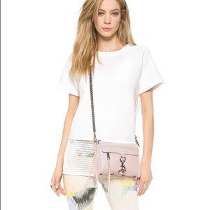 •REBECCA MINKOFF• Pink Mini MAC Cross Body Bag
